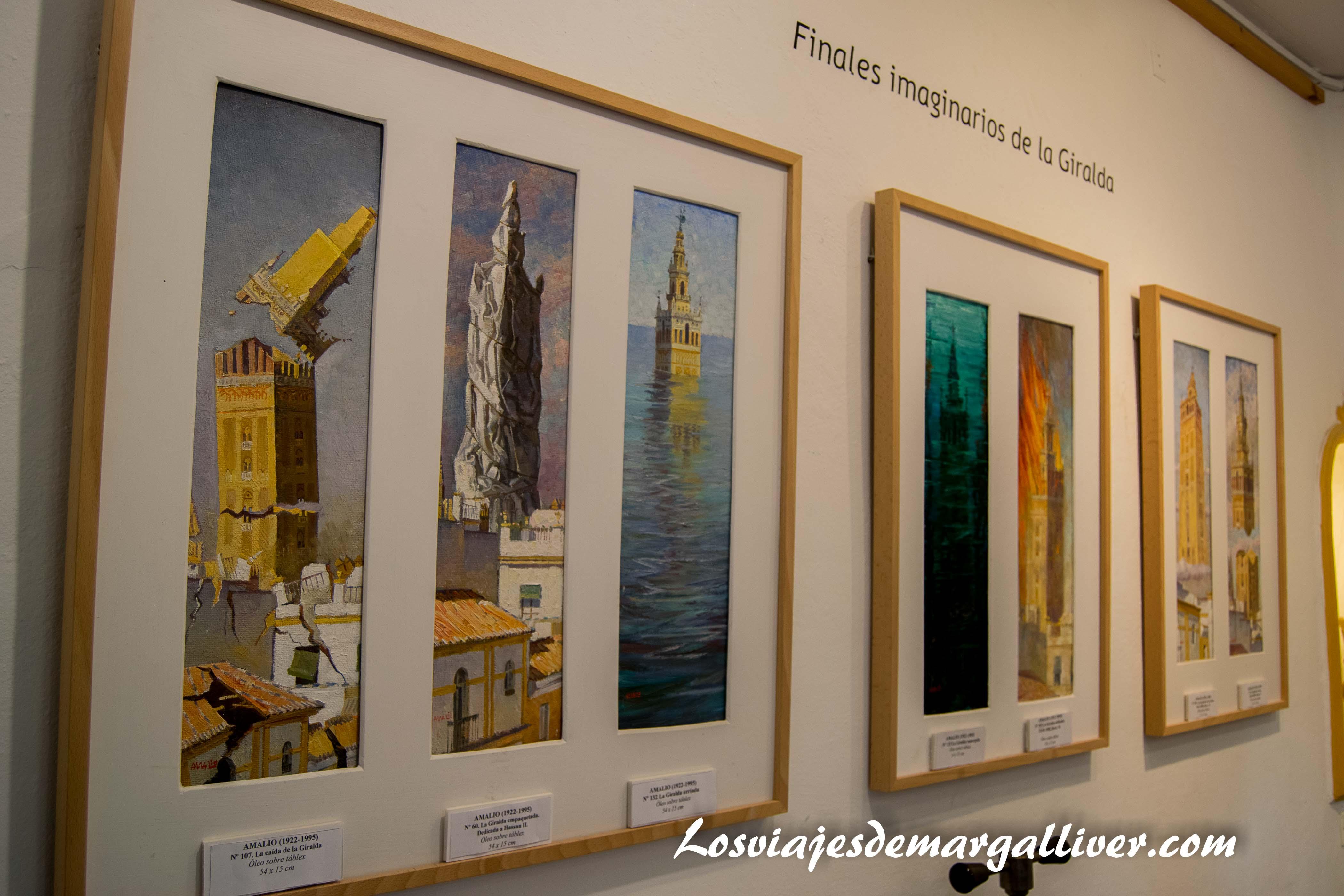 Exposición 365 giraldas casa-museo Amalio - los viajes de Margalliver